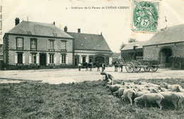CHÊNE-CHENU   =   Intérieur De La Ferme   687 - Autres Communes
