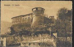 ROVERETO - IL CASTELLO - FORMATO PICCOLO - VIAGGIATA 1922 - Castelli