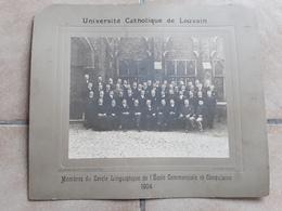 GRANDE GROTE ORGINELE FOTO AFMETINGEN 42 CM OP 36 CM UNIVERSITE CATHOLIQUE DE LOUVAIN LEUVEN JAAR 1904 - Sin Clasificación