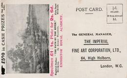 Unused Imperial Fine Arts Corp Advertising Card - Advertising