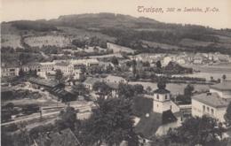 AK - TRAISEN - Panorama Mit Johanneskirche Und Bahnhofsgelände 1918 - Österreich