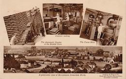 1935 Card Advertisng Frys Choc 2x 1/2d Franking M/c Imps Unusual - Advertising