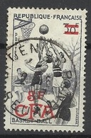 Réunion Poste   N° 326  Basket-ball       Oblitéré  B/   TB              Soldé à Moins De  20  %  ! ! ! - Used Stamps