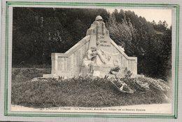 CPA - Le THILLOT (88) - Aspect Du Monument Aux Morts En 1926 - Ad. Weick - Le Thillot