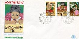 ANTILLESC DUTCH 1983 FDC With LIZARD/ENT.BARGAIN.!! - Andere