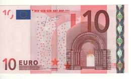 "10 EURO  ""X"" Germany    Firma Trichet     G 017 B1  X60  /  FDS - UNC - EURO"