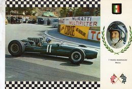 Pedro Rodriguez  -  Cooper Maserati V12   -  Serie Gran Prix No 11  -  Carte Postale - Grand Prix / F1