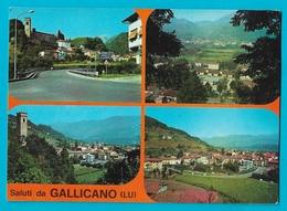 Saluti Da GALLICANO Panorama 4vues - Lucca