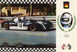 Manfred Mohr  -   AMS 273 Tecno   -  Serie Gran Prix No 8  -  Carte Postale - Grand Prix / F1