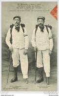 13 MARSEILLE. Délégués Association Estropiés Français 1907. Rosin Et Carlier. Marseille Paris Lille- Reims Amiens - Marseille