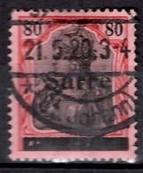 Sarre YT N° 16 Oblitéré. B/TB; A Saisir! - 1920-35 Société Des Nations