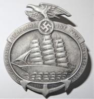 """1935 DR Badge """"Seefahrt Ist Not - Tag Der Deutschen Seefahrt"""" - 1939-45"""