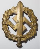 1935-1939 DR Badge SA-Sportabzeichen In Bronze - 1939-45