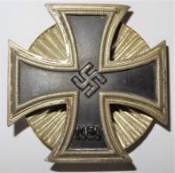 1939 WW II DR Iron Cross / Eisernes Kreuz Mit Schraubscheibe - 1939-45