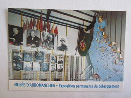 14 Musée Arromanches Exposition Permanante Du Débarquement Le Hall D'entrée De Gaulle - Arromanches