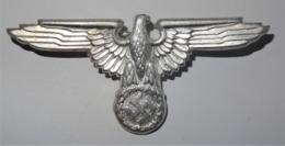 1933-1945 WW II DR Badge German Eagle With Swastika - 1939-45