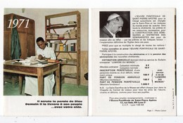 CALENDRIER 1971 - Calendriers