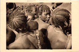 AFRIQUE - CENTRAFRICAINE - Oubangui Chari - Coiffures - Centrafricaine (République)