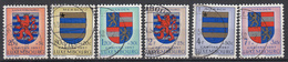 LUXEMBURG - Michel - 1957 - Nr 575/80 - Gest/Obl/Us - Luxembourg
