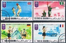 Ra's Al Chaima 1971  -  Michel  523 / 526  ( Usados ) - Ra's Al-Chaima