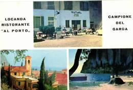 CAMPIONE DEL GARDA - TRATTORIA AL PORTO DI CONSOLINI (BS) - Brescia