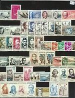 FRANCE 1957    Année Complète  Cat Yt N° 1091  à 1141     N** MNH  COTE  111 - Unused Stamps