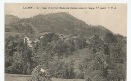 74 Haute Savoie - Langin Le Village Et La Tour Ruines Du Chateau Féodal 11 E Siècle , 1920 - France