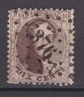 N ° 14 A : 376 VIERVES  Bureau De Distribution Coba +30.00 - 1863-1864 Medallones (13/16)