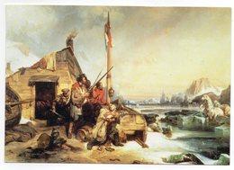 CPM        86     POITIERS   7 ème SALON DE LA REVUE ET DU LIVRE ANCIENS 2000    HIVERNAGE MARINS HOLLANDAIS - Collector Fairs & Bourses