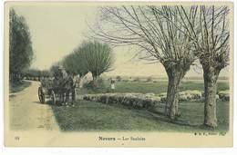 CPA 58 NEVERS LES SAULAIES - Nevers