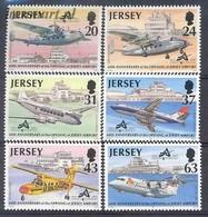 Jersey 1997 Mi 777-782 MNH ( ZE3 JRS777-782 ) - Jersey