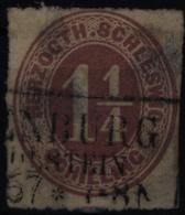 Altdeutschland Schleswig-Holstein 14 Mit Stempel R 3 Oldenburg In Holstein - Schleswig-Holstein