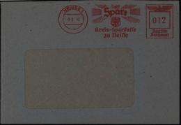 Deutsches Reich Brief Mit AFS Neisse 8.6.1942 - Germany