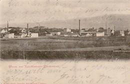 1912 Redirected German Card Factories Etc Reichenbach 5pf Germania Stamp Rheydt & Reichenbach CDS - Cartes Postales