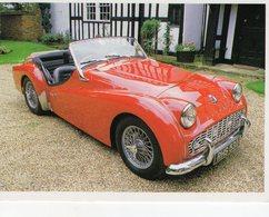 Triumph TR3A  -  1960    -  Carte Postale - Voitures De Tourisme
