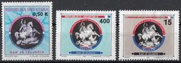 Croazia 1992 Sc. RA37... Postal Tax Stamps San Giorgio Uccide Il Drago   Paintings Nuovo Hrvatska Croatia - Quadri
