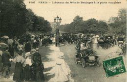 CPA  - PARIS - AVENUE DU BOIS DE BOULOGNE - Parks, Gardens
