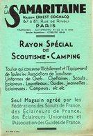 SCOUTISME -  Catalogue  A La SAMARITAINE -  Rayon Spécial De Scoutisme - Camping - Sonstige
