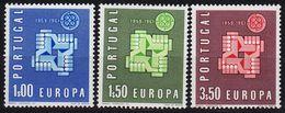 PORTUGAL [1961] MiNr 0907-09 ( **/mnh ) CEPT - 1910-... República