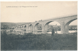 LANAS - Le Village Et Le Pont - Altri Comuni