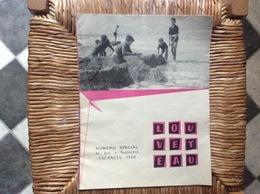 SCOUTISME SCOUT DE FRANCE  Numéro Special Vacances 1960  LOUVETEAU - Scouting