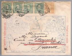 Portugal, 1901, Lisboa-France - Covers & Documents