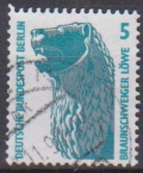Berlin 1990 Mi-Nr.863  O Gest. Löwenstandbild, Braunschweig (B 2155) Günstige Versandkosten - Oblitérés