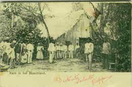SURINAME - CHURCH IN THE FOREST / KERK IN HET BOSCHLAND - 1900s (BG3208) - Surinam