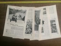 1906 JST LES COULISSE COURSE AUTOMOBILES CIRCUIT DE LA SARTHE LE MANS ROUTE FERTE BERNARD - Vieux Papiers