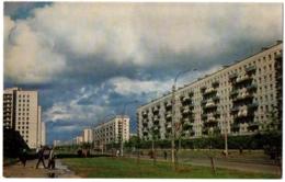 CPSM PF Russie - USSR - LENINGRAD - New Blocks Of Dwelling Houses In Vyborgskaya - Russie