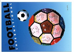 AFFICHE FOOTBALL  FRANCE 98 - DESSIN DE LEO KOUPER - Kouper