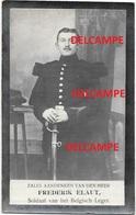 OORLOG GUERRE Frederik Elaut Scheldewindeke Soldaat Gesneuveld Te ST Pol Sur Mer Feb 1915 ARTILLERIE Doodsprentje - Devotion Images