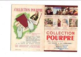 CATALOGUE DE LA COLLECTION POURPRE - Bücher, Zeitschriften, Comics