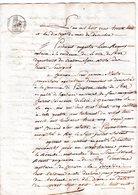 Vieux Papier De RIEZ De HAUTE PROVENCE 1838 Pierre MARTIN De PUYMOISSON  Partage Succession - Historical Documents